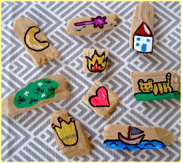Bilder auf Holz malen