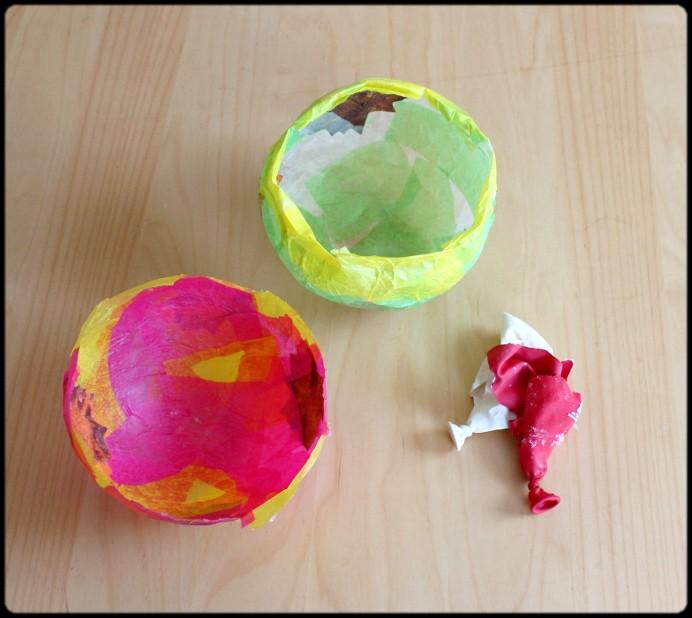 5. Schritt Luftballon platzen lassen und entfernen DIY (1)