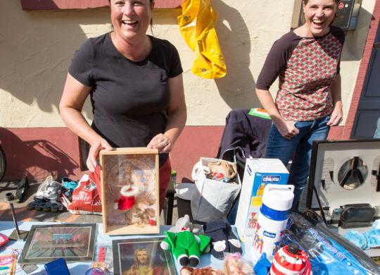WNL . PR . Philipp Reimer . 24.09.2016 . 24_09_2016 . WEINHEIM  Flohmarkt und Tag der Offenen Höfe rund um den Rodensteiner, BILDER .